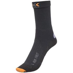 X-Socks Run Fast juoksusukat Mid , musta